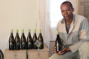 pictured: Mothiba Thamae, the SANI producer.